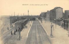 Busigny La Gare Interieur Prise De Pont (Train (cliché pas courant - Busigny