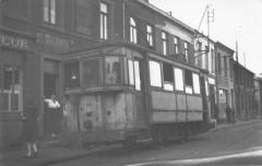Maubeuge Carte Photo Du Tramway Devant Le Magasin E.berny Datee 1957 - Maubeuge
