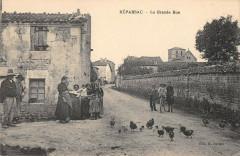 Reparsac La Grande Rue - Réparsac