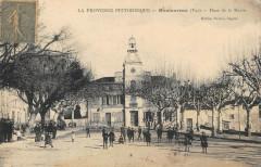 Montauroux Place De La Mairie (cpa pas courante - Montauroux