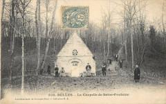 Bulles La Chapelle De Sainte Fontaine (cliché rare - Bulles