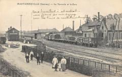Martainneville La Verrerie La Gare - Martainneville