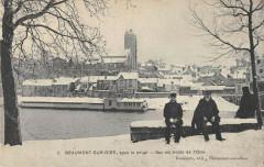 Beaumont Sur Oise Sous La Neige Sur Les Bords De L'Oise - Beaumont-sur-Oise