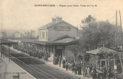 Rosny Sous Bois Depart Pour Paris Train De 7h 20 93 Rosny-sous-Bois