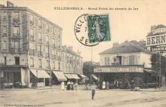 Villemomble Rond Point Du Chemin De Fer (cliché pas courant - Villemomble