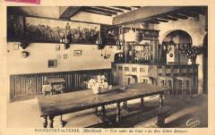 Rochefort En Terre Une Salle Du Cafe Au Bon Cidre Breton - Rochefort-en-Terre
