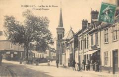 Picquigny La Rue Saint Pierre Hopital Hospice - Picquigny