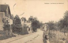 Yerres Le Chemin De Bellevue  (cpa rare - Yerres