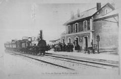 La Gare De Saclas Saint Cyr (Train - Saclas