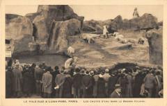 Paris XVIIe Pole Sud A Luna Park Les Chutes D'Eau Dans Le Bassin Polaire - Paris 17e