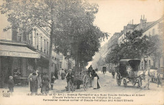 Paris Xe Avenue Parmentier Aux Rues Claude Vellefaux Et Alibert - Paris 10e