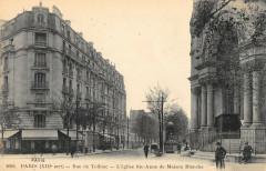 Paris XIIIe Rue De Tolbiac Eglise Ste Anne De Maison Blanche - Paris 13e