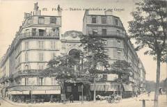 Paris XIIIe Theatre Des Gobelins Et Rue Coypel - Paris 13e