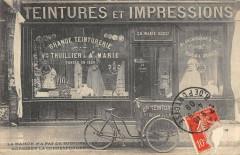 Paris IVe Rue De Rivoli Teintures Et Impressions Vve Thuillier A.marie - Paris 4e