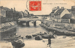 Isigny Sur Mer Le Port A Maree Basse - Isigny-sur-Mer