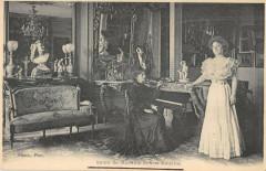 Salon De Madame Ernest Ameline Poete Normand - Ernes