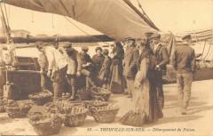 Trouville Sur Mer Debarquement Du Poisson - Trouville-sur-Mer