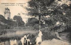Apremont Le Chateau Vers Le Pont Sur La Vie - Apremont