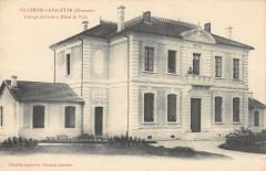 Villebois Lavalette Groupe Scolaire Et Hotel De Ville - Villebois-Lavalette