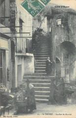 Saint Tropez Escalier Du Marche - Saint-Tropez