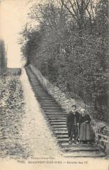 Beaumont Sur Oise Escalier Des 117 - Beaumont-sur-Oise