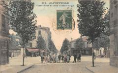 Alfortville Carrefour Et Rue Victor Hugo - Alfortville