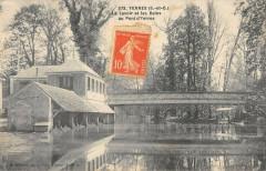 Yerres Le Lavoir Et Bains Pont D'Yerres - Yerres