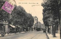 Les Lilas La Rue De Paris - Les Lilas