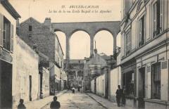 Arcueil Cachan Le Bas De La Rue Emile Raspail Et Les Aqueducs 94 Arcueil