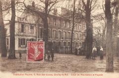 Choisy Le Roi Institution Racine Rue Des Ecoles Cour De Recreation - Choisy-le-Roi