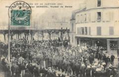 Maisons Alfort Obseques Du Cantonnier Dureuil Victime Du Devoir 94 Maisons-Alfort