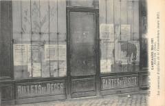 Noyon Les Panneaux D'Affiches De La Commandanture 1917 - Noyon