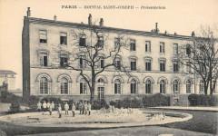 Hôpital Sain- Joseph - Preventorium 75 Paris 14e