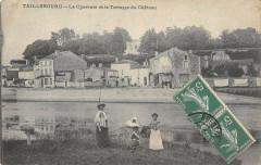 Taillebourg La Charente Et La Terrasse Du Chateau - Taillebourg
