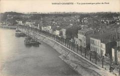 Tonnay Charente Vue Panoramique Prise Du Pont - Tonnay-Charente