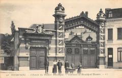 L'Entrée du Théâtre Municipal - Tourcoing
