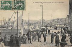 Honfleur Vue Des Bassins Prise De La Lieutenance - Honfleur