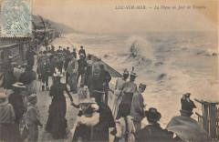 Luc Sur Mer La Digue Un Jour De Tempete - Luc-sur-Mer