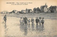 Ver Sur Mer Plage Tranquille Pour Les Mamans - Ver-sur-Mer