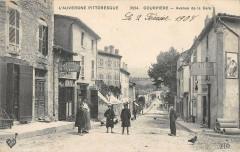 Courpiere Avenue De La Gare - Courpière