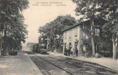 Aulnat La Gare (avec le train - Aulnat