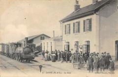 Cande La Gare (Train En Gros Plan - Candé