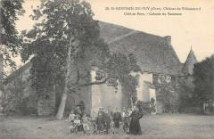 Saint Germain Du Puy Chateau De Villemenard Cote Au Parc Colonie Vacances - Saint-Germain-du-Puy