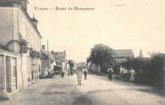 Vaumas Route De Dompierre - Vaumas