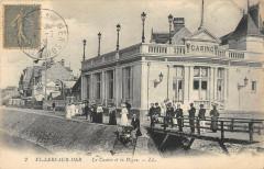 Villers Sur Mer Le Casino Et La Digue - Villers-sur-Mer
