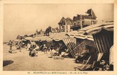 Blonville Sur Mer Un Coin De La Plage - Blonville-sur-Mer