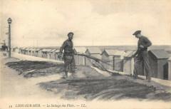 Lion Sur Mer Le Sechage Des Filets - Lion-sur-Mer