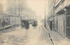 Crue De La Seine Saint Denis 1910 La Rue Du Port 93 Saint-Denis