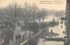 Maisons Alfort Inondations 1910 La Grande Rue 94 Maisons-Alfort