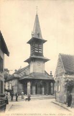 Env.compiegne Vieux Moulin L'Eglise - Vieux-Moulin